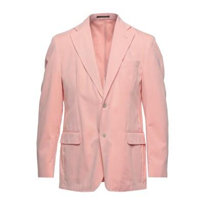 LUBIAM テーラードジャケット ピンク 52 コットン 100% テーラードジャケット