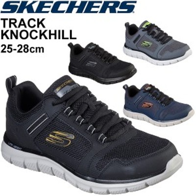 スニーカー メンズ シューズ スケッチャーズ SKECHERS トラック ノックヒル TRACK KNOCKHILL/スポーティ 男性 LAスニーカー スポーティ