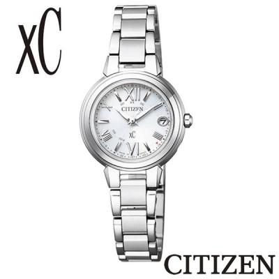 【正規販売店】CITIZEN シチズン XC クロスシー エコドライブ 電波時計 ES9430-54A ハッピーフライト 電波 CITIZEN レディース 腕時計