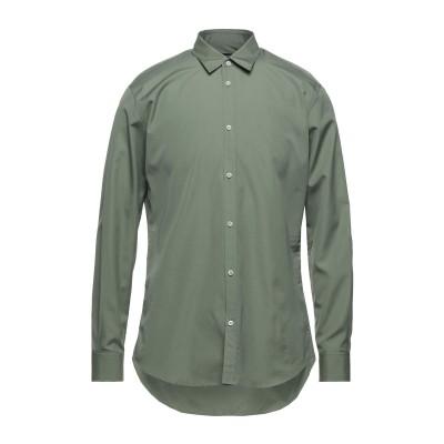 ディースクエアード DSQUARED2 シャツ ミリタリーグリーン 48 コットン 100% シャツ