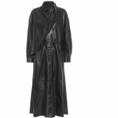 ドド バー オア Dodo Bar Or レディース ワンピース ミドル丈 ワンピース・ドレス Leather Midi Dress Black