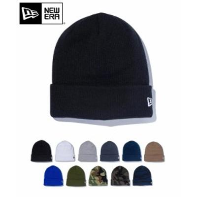 メール便送料無料 NEW ERA ニューエラ ニット帽 ベーシック カフニット 12カラー メンズ レディース 帽子 ビーニー ワンポイント ロゴ 刺
