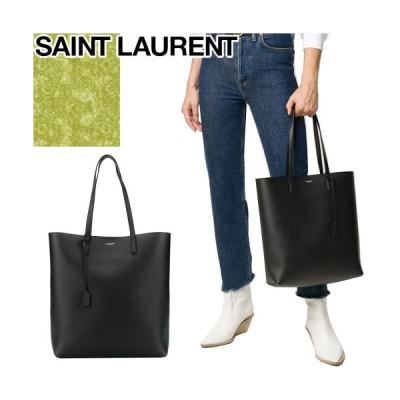 サンローラン パリ SAINT LAURENT PARIS トートバッグ ショッピング バッグ レディース メンズ ブランド 大きめ 通勤 軽い 革 本革 a4 縦長 黒 ブラック