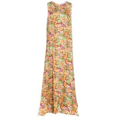 PLAN C/プランシー Multicolor Floral printed long dress レディース 春夏2020 ABCAB06LN0TV009FIR02 ju