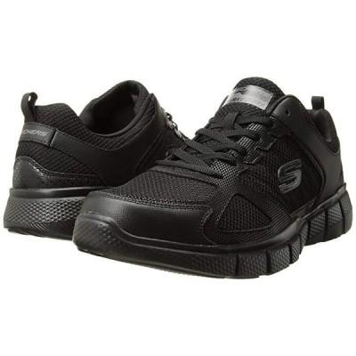 スケッチャーズ Equalizer 2.0 On Track メンズ スニーカー 靴 シューズ Black