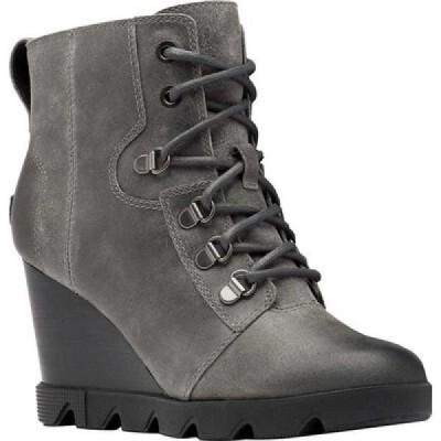ソレル Sorel レディース ブーツ ウェッジソール シューズ・靴 Joan Uptown Lace Waterproof Wedge Bootie