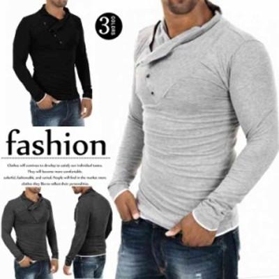 Tシャツ メンズ 長袖 カットソー メンズTシャツ Tシャツ メンズ長袖 無地 長袖ポロシャツ 白 tシャツ 長袖Tシャツ アメ