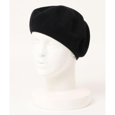 帽子 【W】【RACAL】クラシックニットベレー帽