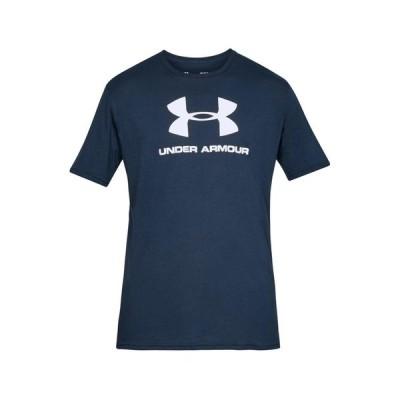 アンダーアーマー シャツ メンズ トップス Print T-shirt - marine