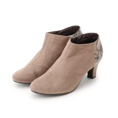 grove / 異素材コンビブーティ WOMEN シューズ > ブーツ