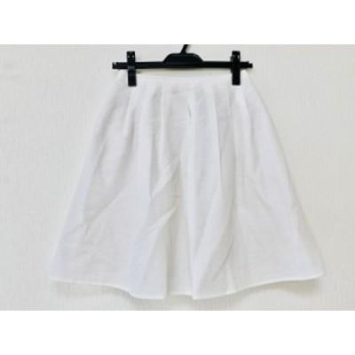 トッカ TOCCA スカート サイズ0 XS レディース 美品 白【中古】20200417