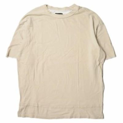 WHITELAND BLACKBURN ホワイトランドブラックバーン Pigment S/S T-Shirts ピグメントダイTシャツ 6016161334 ベージュ 半袖