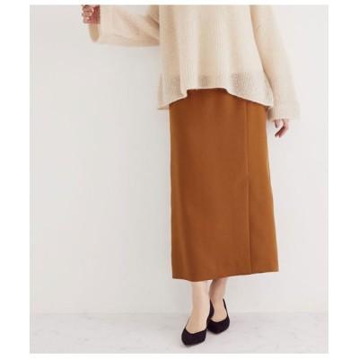 ROPE'/ロペ 【スタイルアップ】フロントスリットスカート キャメル(25) 36