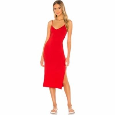 プライバシー プリーズ Privacy Please レディース ワンピース ミドル丈 ワンピース・ドレス Bette Midi Dress Red Orange