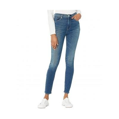 Hudson Jeans ハドソン ジーンズ レディース 女性用 ファッション ジーンズ デニム Barbara High-Waist Super Skinny Ankle in Higher Love - Higher Love
