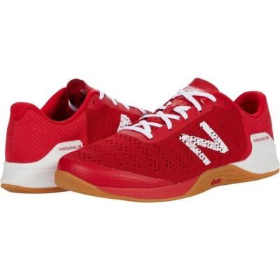 ニューバランス New Balance メンズ スニーカー シューズ・靴 Minimus Prevail Team Red/White