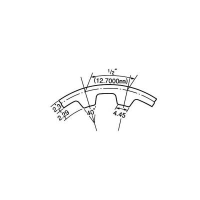タイミングベルトH300形 三ツ星ベルト 1700H300
