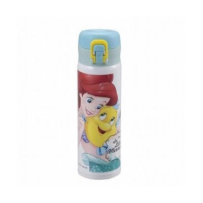 CAPTAIN STAG ディズニー 軽量ワンタッチパーソナルボトル500(リトル・マーメイド/バブル)/MA-2245 リトル・マーメイド/バブル