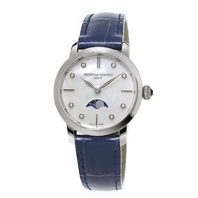 フレデリックコンスタント FREDERIQUE CONSTANT スリムライン ムーンフェイズ SLIM LINE MOONPHASE FC-206MPWD1S6 正規品 レディース 腕時計