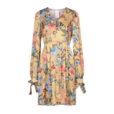 PENNYBLACK ミニワンピース&ドレス オークル 44 レーヨン 100% ミニワンピース&ドレス