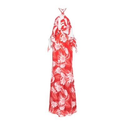 MARCIANO ロングワンピース&ドレス レッド 38 ポリエステル 100% ロングワンピース&ドレス