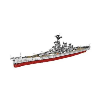 XINGBAO 06030 2631ピース ミリタリーアーミーシリーズ USS ミズーリ戦艦セット ビルディングブロック クラシッククルーザーモデルブ