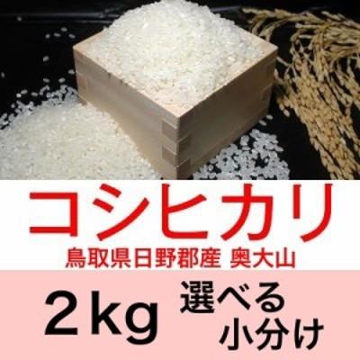 令和元年産 鳥取県日野産コシヒカリ/こしひかり奥大山2kg便利な選べる小分け