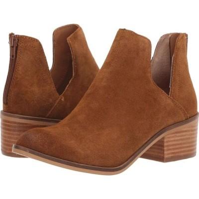 スティーブ マデン Steve Madden レディース ブーツ シューズ・靴 Lancaster Bootie Cognac Suede