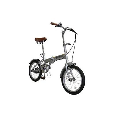16型 折りたたみ コンパクト自転車 16インチ フォールディングバイク 持ち運び便利!
