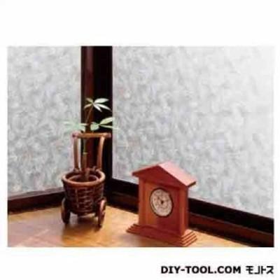 明和グラビア 空気が抜けやすい窓飾りシート ホワイト 46cm丈×90cm巻 GDP-4630