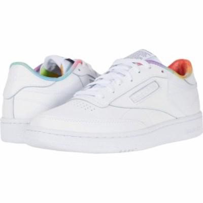 リーボック Reebok Lifestyle レディース スニーカー シューズ・靴 Club C 85 White/White/White