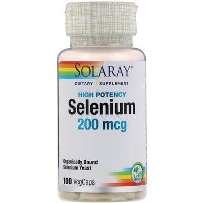 セレニウム, 200 mcg, 100錠 (ベジカプセル)
