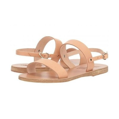 Ancient Greek Sandals レディース 女性用 シューズ 靴 サンダル Clio - Natural Vachetta