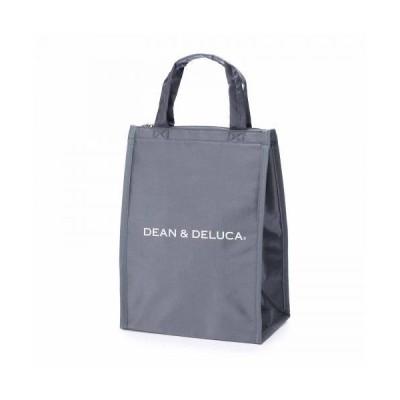 DEAN&DELUCA クーラーバッグ グレーM 保冷バッグ ファスナー付き コンパクト お弁当 ランチバッグ