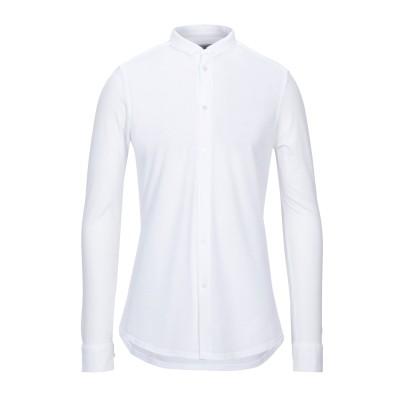 パオロ ペコラ PAOLO PECORA シャツ ホワイト 39 コットン 100% シャツ
