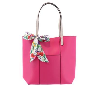 【WEB限定販売】エムエフエディトリアルレディース/m.f.editorial:Women リボンスカーフ付きトートバッグ A4対応