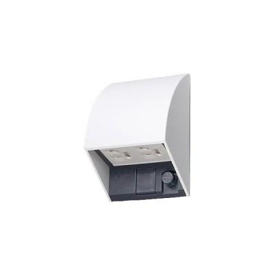 パナソニック(Panasonic) スマート接地防水ダブルコンセント(抜け止め式・アースターミナル式)(露出・埋込両用) WK4602WK (ホワイト)