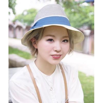 polcadot / HOKULANI HAT/アシンメトリー ペーパーハット WOMEN 帽子 > ハット