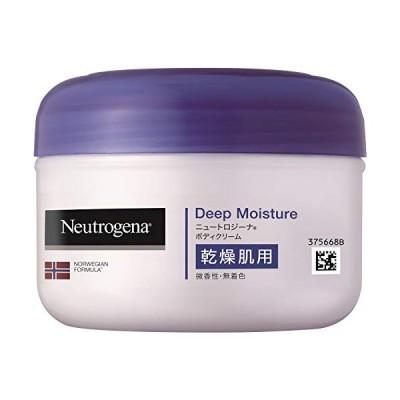 Neutrogena(ニュートロジーナ) ノルウェーフォーミュラ ディープモイスチャー ボディクリーム 乾燥肌用 微香性 200ml 1個