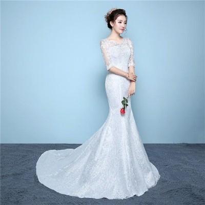 ウェディングドレス二次会白ドレス人気ウエディングドレス安い結婚式パーティ披露宴パーティードレス花嫁ミニドレスオフショルダー