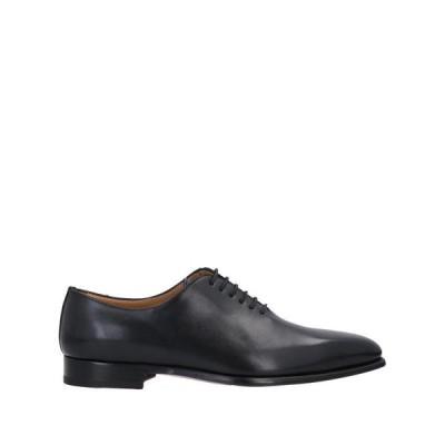 STEFANO BRANCHINI レースアップシューズ  メンズファッション  メンズシューズ、紳士靴  その他メンズシューズ、紳士靴 ブラック