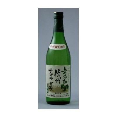 酸化防止剤無添加 信州ナイアガラ 白(やや甘口) 720ml アルプスワイン