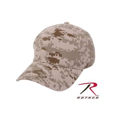 ROTHCO / ロスコ 8611 LOW PROFILE CAP - DESERT DIGITAL 帽子/キャップ
