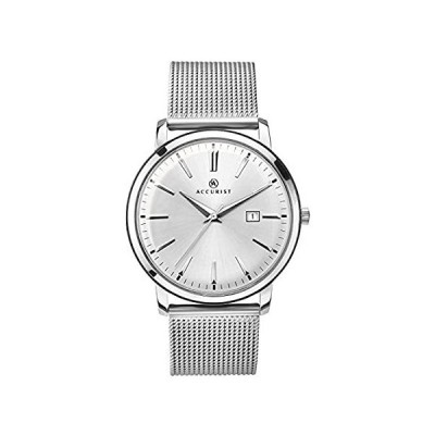 Accurist Unisex-Adult Watch, Analogue Classic Display and Stainless Steel S