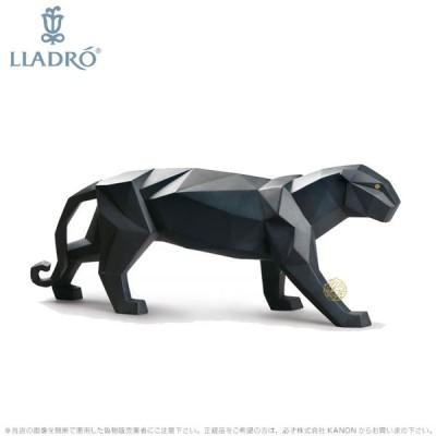 リヤドロ ブラックパンサー 01009299 LLADRO Black Panther □