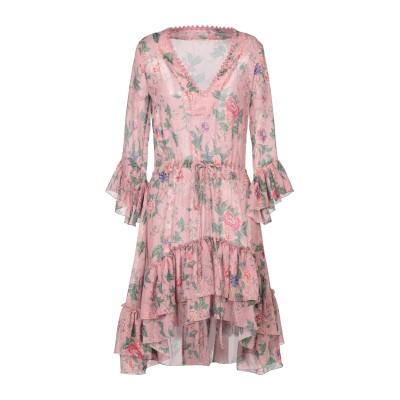 アンジュナ ANJUNA ミニワンピース&ドレス ピンク XS ポリエステル 100% ミニワンピース&ドレス