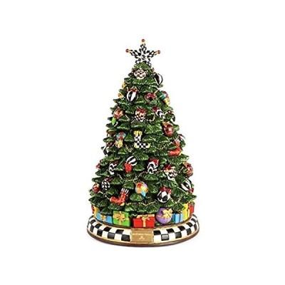MacKenzie-Childs Christmas Carol Tree 並行輸入品