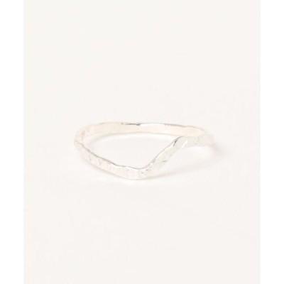 指輪 【V&SSS】diamond dust step ring sv925