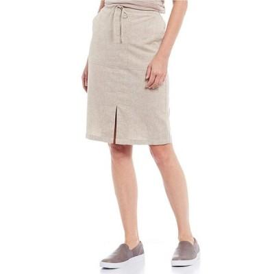 プラーナ レディース スカート ボトムス Bristol Woven Hemp & Recycled Polyester Blend Skirt