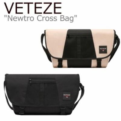 ベテゼ クロスバッグ VETEZE メンズ レディース Newtro Cross Bag ニュートロ クロス バッグ BLACK ブラック BEIGE ベージュ NCB バッグ